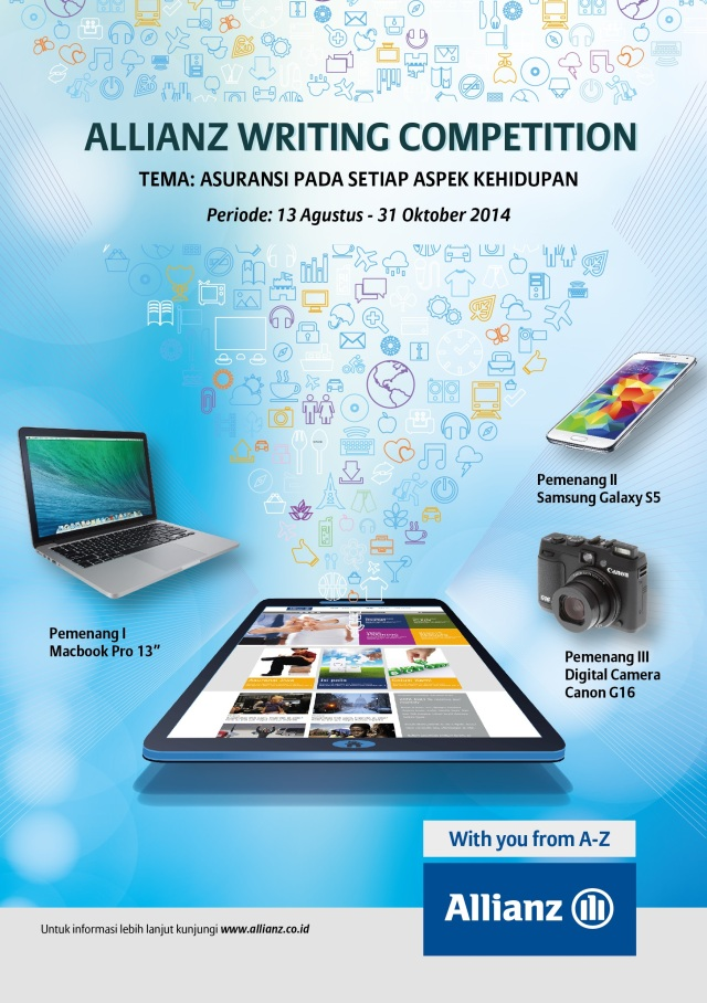 Hadiah Allianz Writing Competition 2014