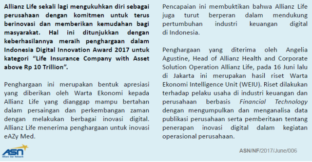 Penghargaan Allianz Digital 2