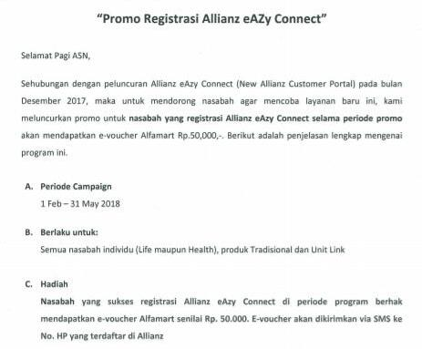 Promo Eazy Connect 1
