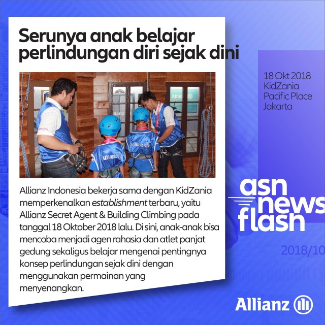 ASN News Flash - 20181019 KidZania